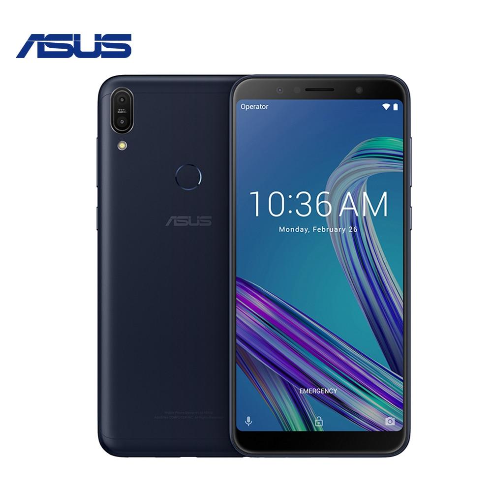 Глобальная версия Asus Zenfone Max Pro (M1) ZB602KL 4 ГБ 64 ГБ 6 дюймов SnapDragon 636 5000 мАч Android 2018 мобильный телефон