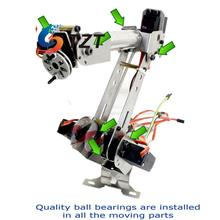 Diy 6DOF Mechanical Robotic Arm Clamp for Robot Smart Car Arduino SCM Unassembled