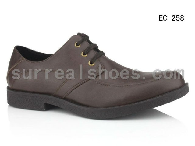 Italian brand men genuine leather casual shoes
