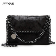 hot deal buy awague fashion designer chain strap cross body bags ladies shoulder bags high quality clutch bags luxury evening bags