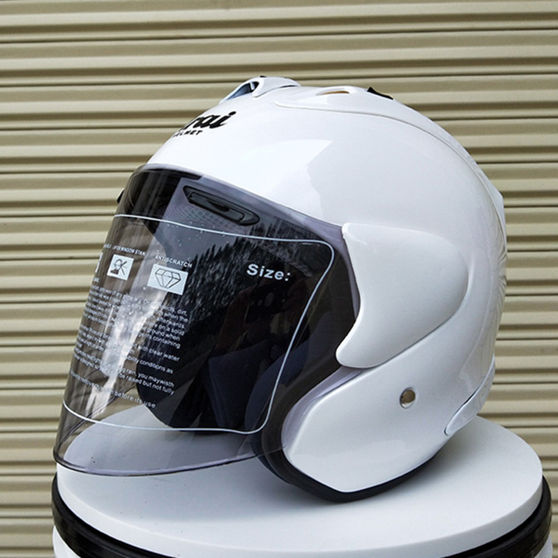 2018 ARAI R4 Motorcycle Helmet 3/4 Open Face Vintage Helmet Moto Casque Casco Motocicleta Capacete Helmets|Helmets| |  - title=