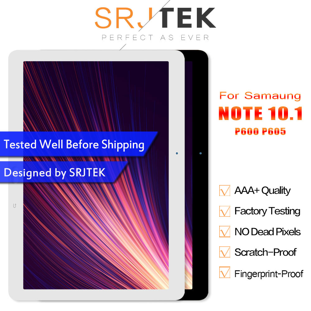 Srjtek 10 1 For Samsung Galaxy Note 10 1 SM P600 P605 P600 LCD Display Touch