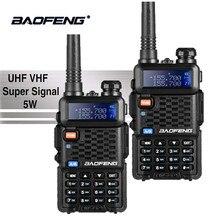 ФОТО 2pcs baofeng bf-f8+ uhf/vhf walkie talkie 10km with ptt earphone portable handheld hotel cb car radio station ham hf transceiver