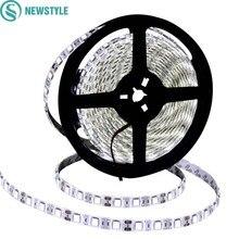 Стиль DC12V Светодиодная лента 5050 водонепроницаемая/не водонепроницаемая гибкая светодиодная лента светильник 60 светодиодный s/m 5 м/лот белый теплый белый RGB лента