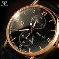 Relogio Masculino 2016 Бизнес Часы Кварцевые Часы Лучший Бренд Класса Люкс Известный Наручные Часы Мужской Часы Наручные Часы Мужчин Кварцевые часы