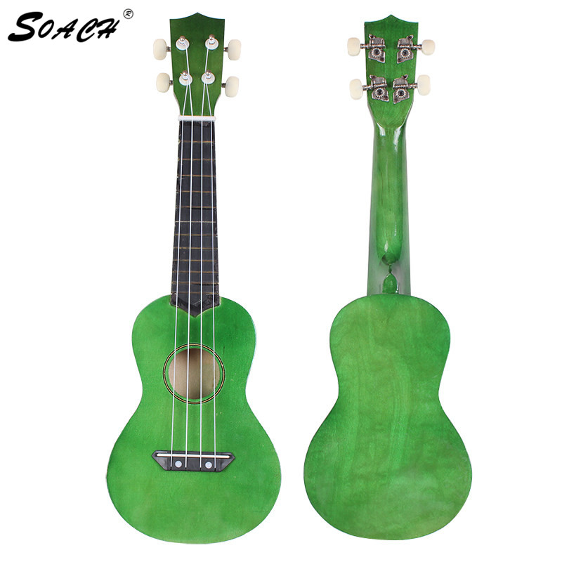 soach ukulele bass guitar flag professional 21 acoustic ukulele music 4 steel string kid toy. Black Bedroom Furniture Sets. Home Design Ideas