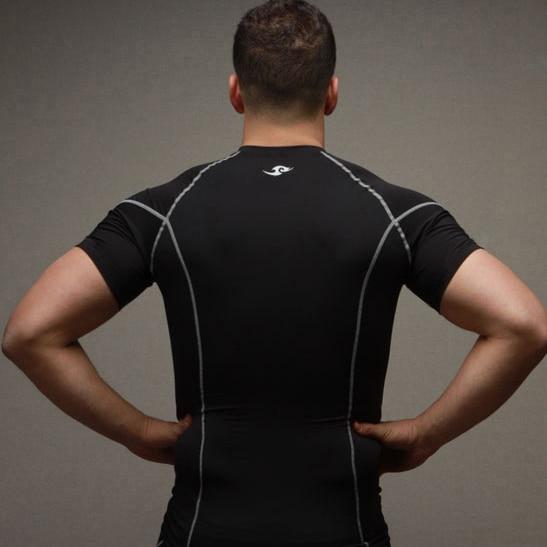 2015 neue Compression Base Layers Mens Casual T-Shirt Kurzhülse - Herrenbekleidung - Foto 4