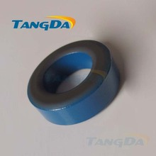 Tangda Iron powder cores T50-1 OD*ID*HT 13*7.5*5 mm 10nH/N2 20uo Iron dust core Ferrite Toroid Core toroidal blue gray