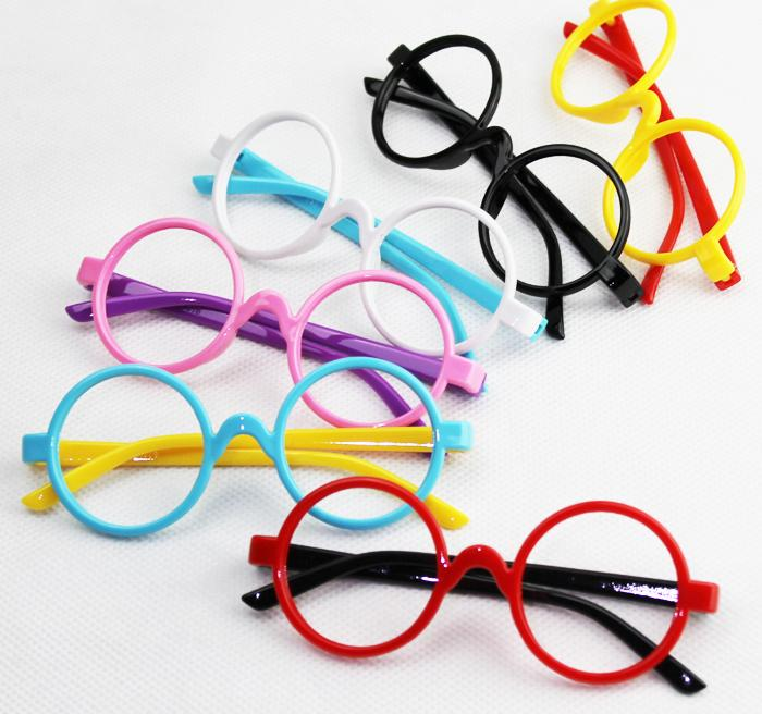 1ac985dec4b6 New fashion 2015 round glasses frames Children boys girls spectacle frames  cute eyeglasses frame kids glasses mix colors,ty3445-in Eyewear Frames from  ...