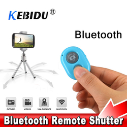 Kebidu Drahtlose Bluetooth Selbstauslöser Auslöser Kamera Fernbedienung Multi Farbe für iPhone für Smart android-Handy