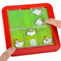 IQ Puzzle jouets pour enfants famille intelligente pensée logique jeux de société 48 défi avec Solution Jouet Enfant Intelligent