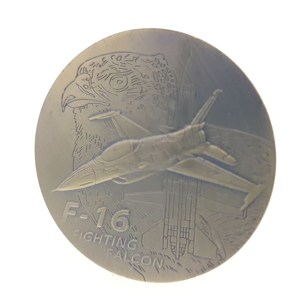 F-16 Fighting Falcon United States Airforce Coins Coin Collection Medal Souvenir Badge Coins Money Anniversary