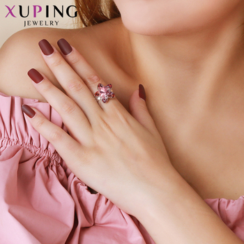 Xuping Jewelry Pentagram Shape Ring Exquisite Crystals from Swarovski Newest Perfect Christmas Gifts M62-10011