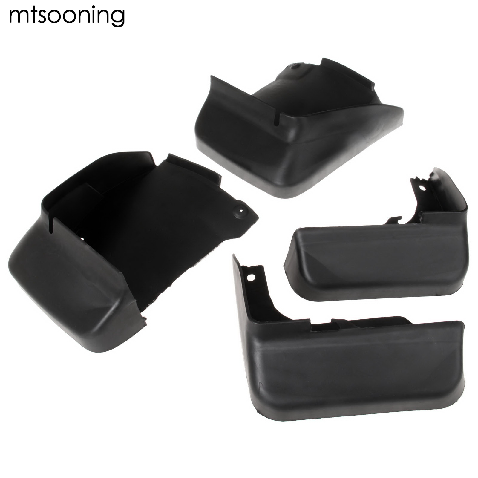 mtsooning 4pcs Mud Splash Flap Guard Fender Mudguards For Honda Accord Sedan Coupe 2003 2004 2005 2006 2007 Front Rear Mud Flap все цены
