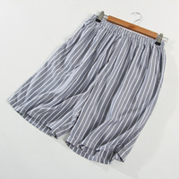 f09405c73 Cotton Pajamas Shorts Striped Sleep Bottoms Men Summer Sleep Pants Patalon  Pyjama Homme Pijama Underwear Wholesale