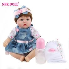 Reborn Baby Doll Lifelike Newborn Babies Alive Kids Playmate