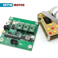 New GRBL off line working controller LCD screen & 3 axis CNC control board for GRBL laser engraving machine wood router
