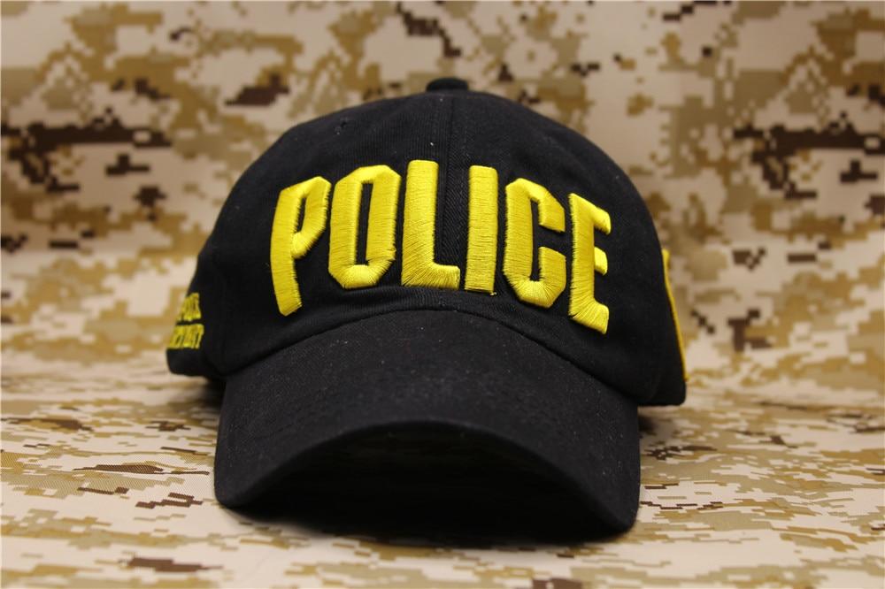 Poliziotto Forze dell ordine Cop Baseball Ball Cap Ricamo US NYC Cappello  di Polizia Cotone Strapback Casquette cappello per gli uomini unisex in  Poliziotto ... f36d22b89c95