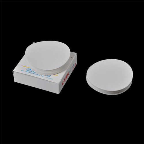 卸売 100 ピース/バッグ 7 センチメートル実験室フィルター紙円形定性濾紙中速漏斗フィルター紙