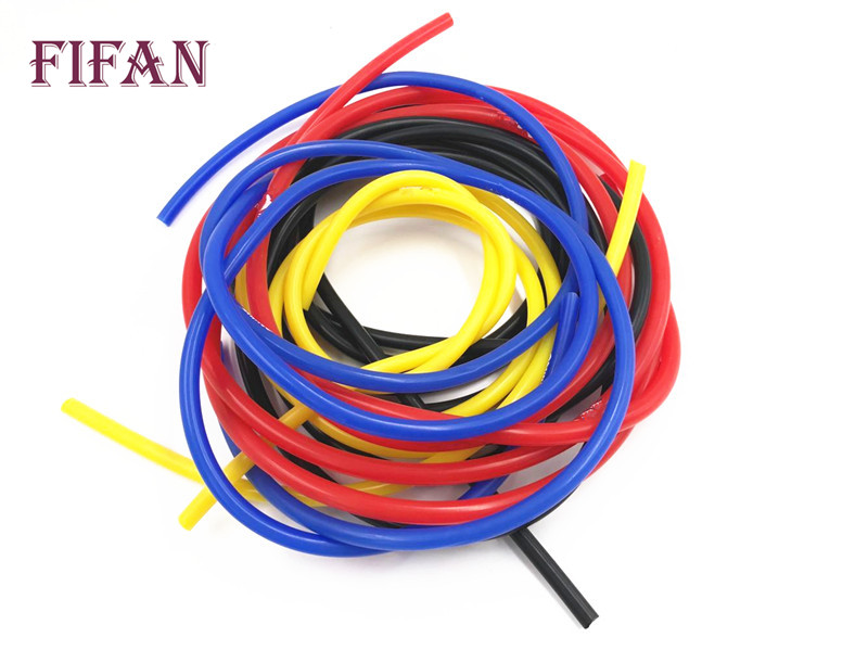 FIFAN Universal 5M 3mm/4mm/6mm/8mm Silicone Vacuum Tube Hose Silicon Tubing For Mitsubishi Galant 2.0 / 2.5 98 ~ 05 image