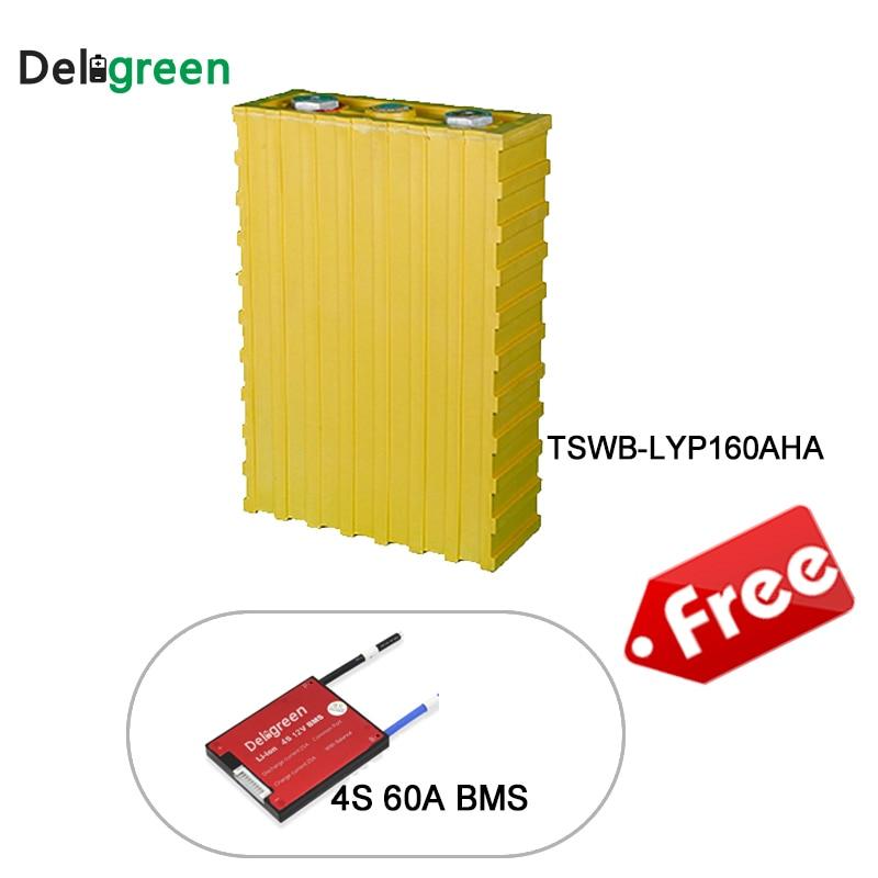 4pcs WB-LYP160AHA Winston Battery LiFeYPO4 lithium ion battery for electric Vehicle/ solar/UPS/energy storage