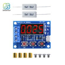 ZB2L3 LED Digital Li-ion Lithium Battery Capacity Tester Resistance Lead-acid Battery Capacity Meter Discharge Tester Analyzer цена в Москве и Питере
