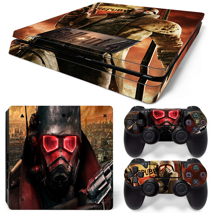 free drop shipping design skin for popular game lovers skin sticker for PS4 slim console covers #TN-P4Slim-0104