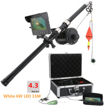 Battlesea Fish Finder Underwater Fishing Camera 7 Inch Waterproof Video 12 PCS Infrared Lamp ICE Rods