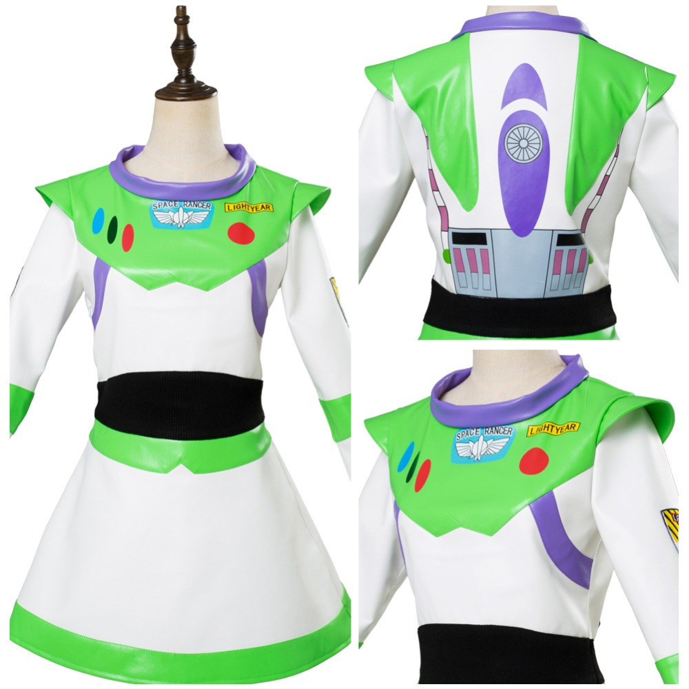 Toy Story Buzz Lightyear Cosplay Costume Shoes Boys Girls Outfit Full Set Halloween Carnival Cosplay Costume Adult Custom Made toy story costumes adult