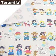Хлопок teramila полотно на метр детская ткань одеяло tetas сделай