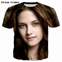 PLstar Cosmos 2017 Summer Women 3D Print The Twilight Saga Breaking Dawn Actors Kristen Stewart Robert