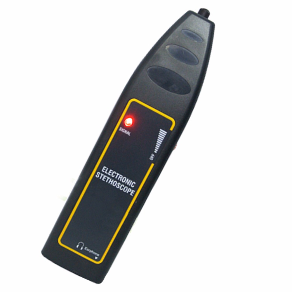 Electronic Stethoscope / Car Truck Automotive Noise Sensor Finder 100Hz~10kHz + High Sensitivity Long & Short probe + Earphone цена и фото