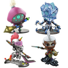 LOL League of Legends figure Action Game Jax mini Model Collection Toy action-figure 3D Game Hero anime party Decoration Gift hot game lol league of legends 18cm assassin time ike complete figure high quality collection toy model toy dolls