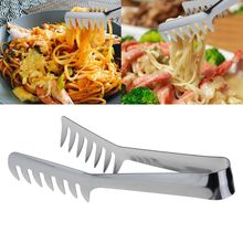 Ролик для нарезания Спагетти из нержавеющей стали щипцы макаронные изделия гребень зажим западный ресторан кухонные инструменты