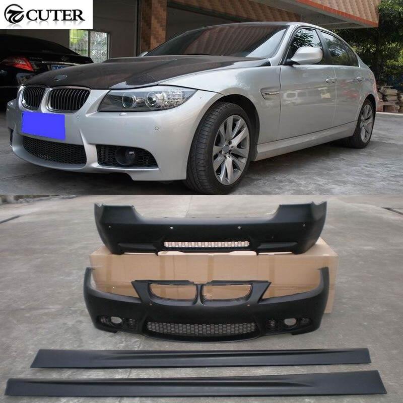 High quality E90 M3 LCI PP unpainted Auto Car Bumper Styling Body Kits For BMW E90 M3 LCI 2009UP