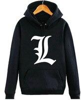 Death Note hoodie Cosplay Anime Coat Casual Men Jacket Sweatshirts tops