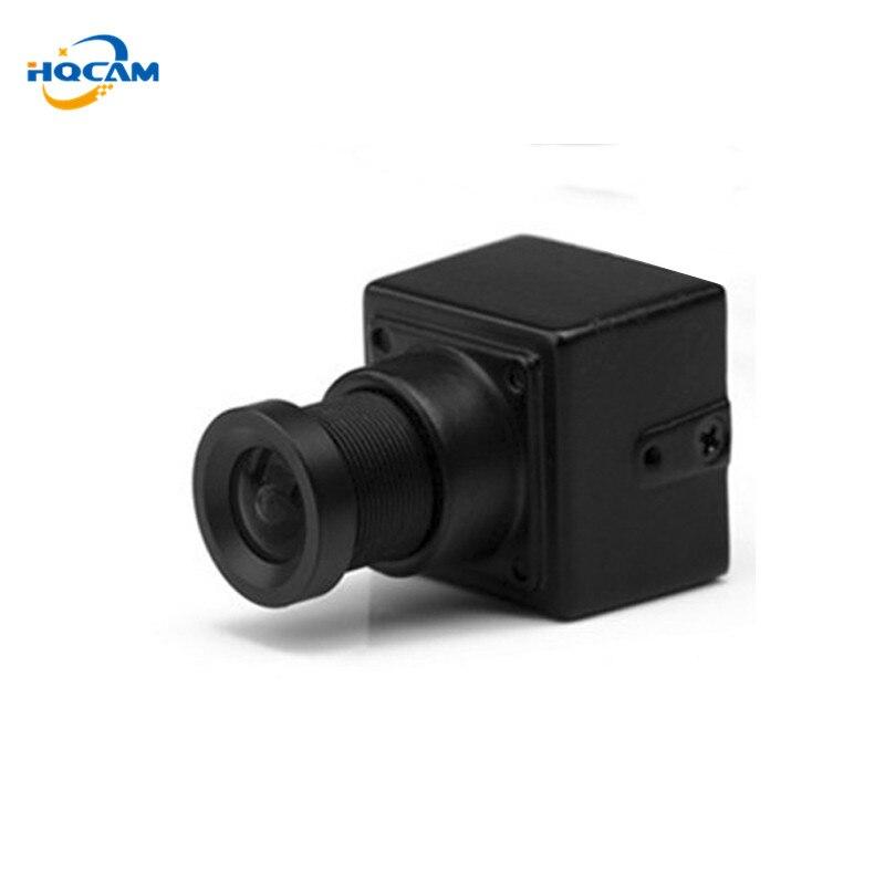 HQCAM en gros taille 20x20mm 550tvl Sony CCD pas cher plus petite caméra CCTV pour FPV avec lentille de 3.6mm pour Lots 100Per pièce