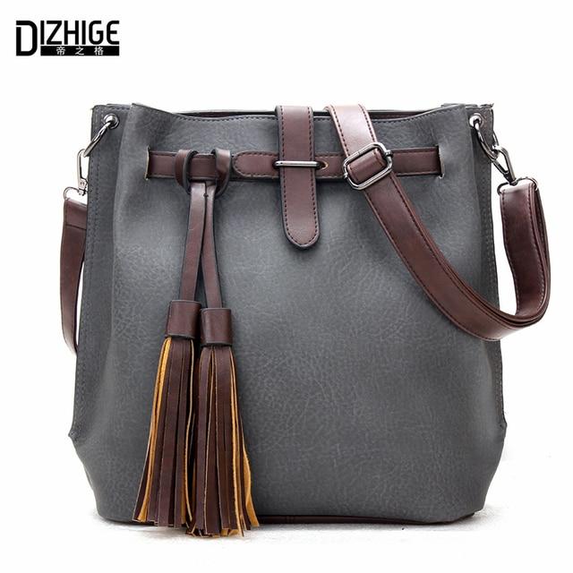 9f495d083c1f Famous Designer Bags 2015 Fashion Crossbody Bags For Women Leather Handbags  Tassel Shoulder Messenger Bags Bolso