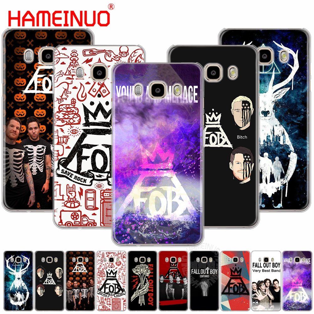 HAMEINUO Fall Out Boy cover phone case for Samsung Galaxy J1 J2 J3 J5 J7 MINI ACE 2016 2015 prime