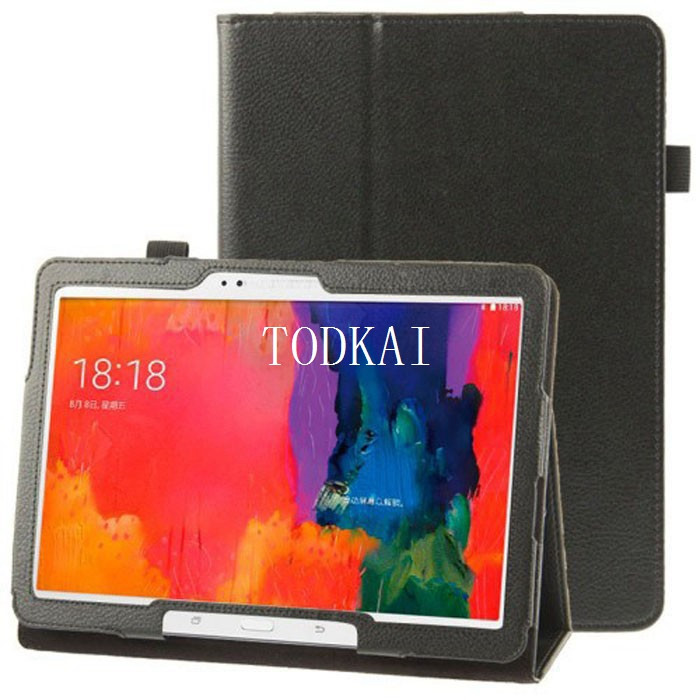 For Samsung Galaxy Note(2014 Edition) 10.1 P600 P601 Tab Pro T520 T525 Tablet PC Folio PU Leather Stand Case protective Cover enkay butterfly pattern protective case w stand for samsung galaxy tab 3 lite t110 multicolor
