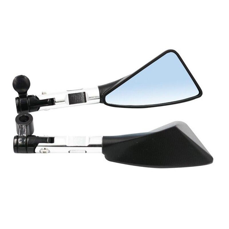 Universal Motos Retrovisor espelho Lateral De Alumínio