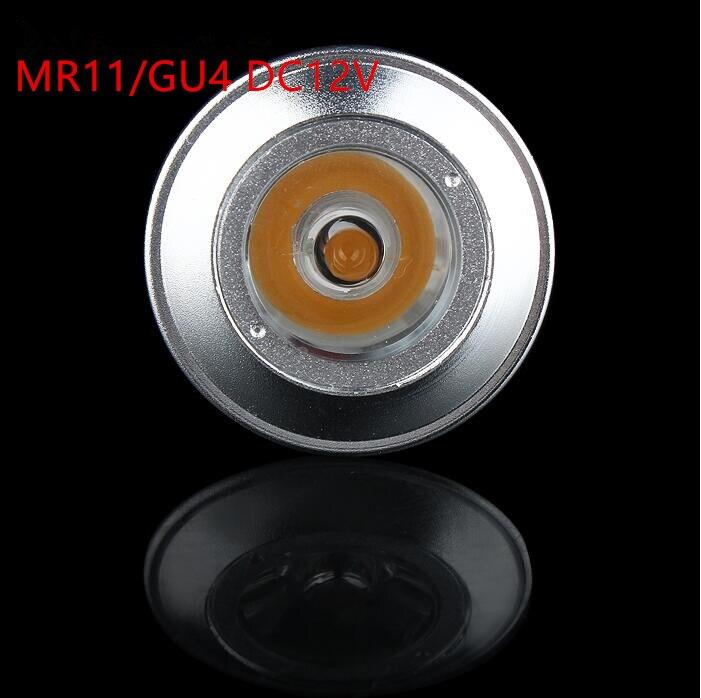 Energy Saving DC12V 3W MR11 LED Spotlights GU4 3W Mini LED