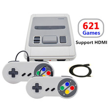 Mini TV Handheld Game Console Video Console For NES Classic Games With HDMI Out Built-in 621 Different Games With 2 Gamepads