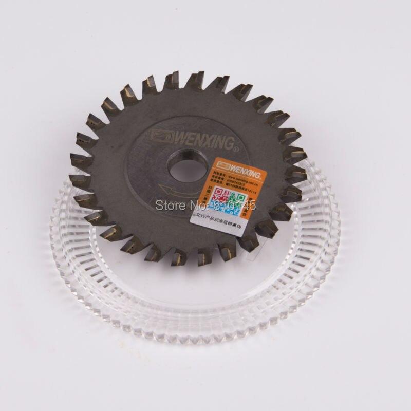 NO:0017AI.C.C titanizing 80*6*12.7mm tungsten wenxing key saw blade cutter for 100G цены