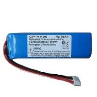 3000mAh Battery 7.4V for Harman Kardon Go Play Mini Speaker Li Polymer Lithium Polymer Rechargeable Accumulator Replacement