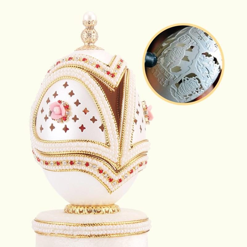 Ballet girl dancing egg carving crafts creative send ...