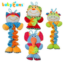Cartoon Animals Music Bell Baby Toy Music Box Early Education Toys Suitable For Hanging In Pushing On The Lathe — DBYC036 PT49