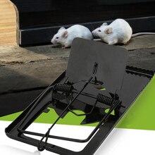 Многоразовые ловушки для крыс, ловушка для борьбы с вредителями, чувствительная ловушка для экологически чистых мышей, ловушка для вредителей, легкая в наборе, железная ловушка для мышей, товары для сада