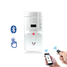 Keyless Electronic Invisible Bluetooth App Security Remote Control Easy Installed Indoor Touching Smart Door Lock