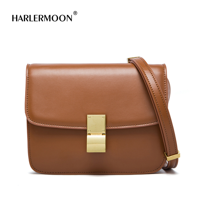 a471ae5fbb68 MK Genuine Leather Women Shoulder Bag Cowhide MK Crossbody Bags Handbags  Message Bags Girls Flap Lady